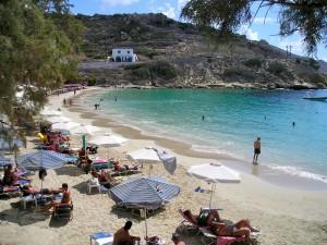 Lefkos spiaggia