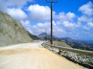Strada per Diafani